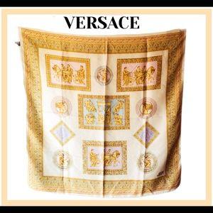 Versace Vintage Silk Scarf